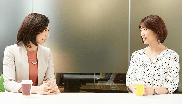 ファイナンシャルプランナー飯村久美さんと株式会社TOE THE LINE 代表取締役 鈴木万梨子さん